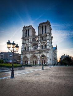 Notre Dame Paris by Ramelli Serge