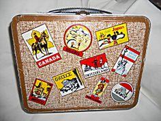 Lunchbox, Traveler, Ohio Art, 1964