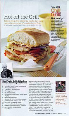 Guy Fieri's Chicken Sandwich