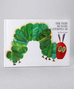 The Very Hungry Caterpillar from the Eric Carle Collection on #zulily #classic #books #good #reads #illustration