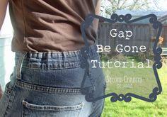 Second Chances by Susan: No More Gap!