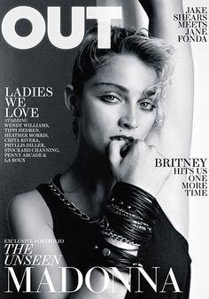 Madonna. Circa 1982. OUT Magazine cover.