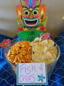 Great snack ideas for a pool party