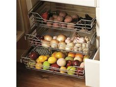 storage for fruits and veggies