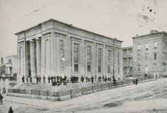 Egyptian building MCV Hospital circa 1880
