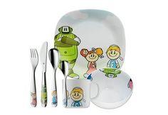 Besteck & Geschirr Set für Kinder von WMF
