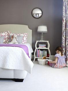 Chic little girl's room