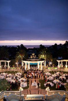 Brides.com: A Romantic Beach Resort Summer Wedding. [object Object]