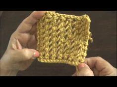 Dos agujas: cómo tejer los bordes para chalinas o tapados