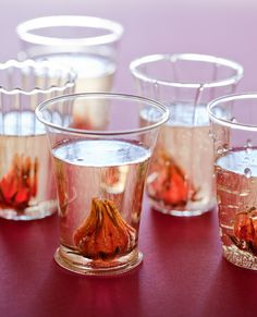 hibiscus and ginger champagne
