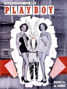Playboy magazine cover January 1954