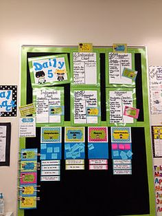 Great Ideas for Daily 5.