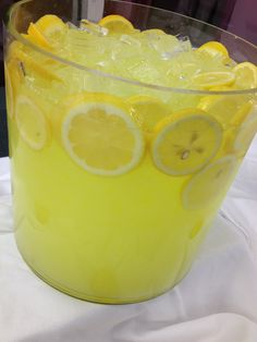 Lemonade Stand for a Baby Shower