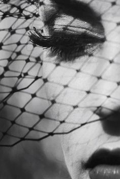 #Sensuality #Sexiness #Netting #Diva birdcage veils, makeup, dark beauty, senior photography, white, bw photography, photography poses, beauti, black