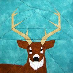 deer paper piecing.