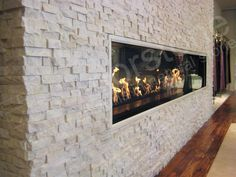 White Quartz Rock Panel - natural stacked stone veneer for wall cladding