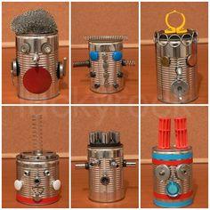 tin cans, robot craft