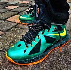 Nike LeBron X Cannon Customs by Twizz
