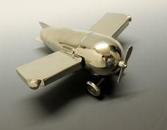 Cocktail Shaker Art Deco Airplane Germany 1930 | eBay