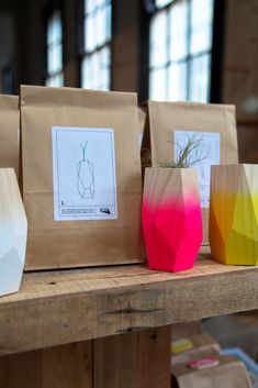GLOH at Koskela // faceted planters and vases made from sustainable pine made in Peregian beach