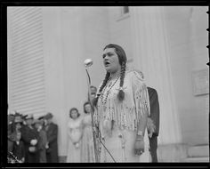 Indians at the Apple Blossom Festival in Groton, via Flickr.