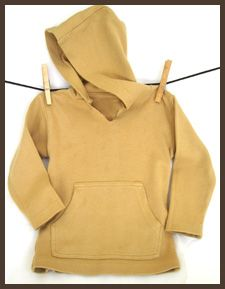 Hooded Shirt by L'oved Baby