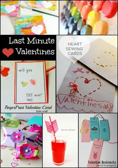 Last Minute Valentines for Kids
