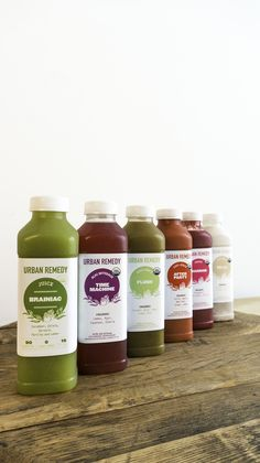 A delicious, organic juice cleanse delivered to your door = easy juicing