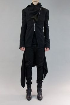 pugh zip, future fashion, gareth pugh, vampir, girl outfits, jackets, men fashion, rock, zip jacket