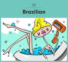 DIY Brazilian (Yes, It Is Possible)