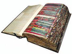 Norwich shawl sample book, 18th c.