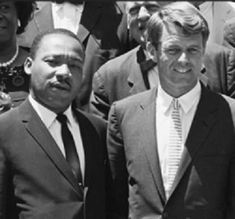 Bobby Kennedy & Martin Luther King, Jr. were both assassinated in 1968