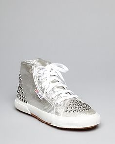 Superga Lace Up High Tops