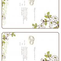 Visit freeprintable.com for a huge selection of FREE wedding invitations.