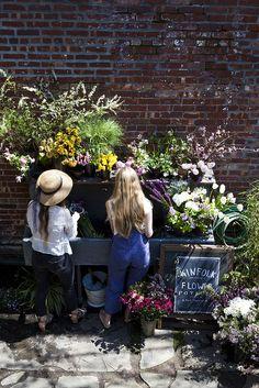 Kinfolk Magazine's flower pot-luck with Amy Merrick