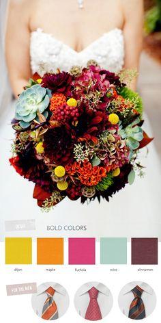 Bouquet... Love the colors..