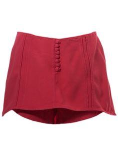 Alê Espindola - Shorts saia rosa. 1
