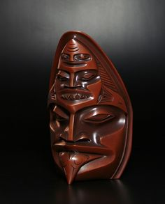 SharkDempsey BobTahltan-Tlingit Cast bronze