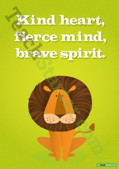 Kind Heart Positivity Poster Teaching Resource