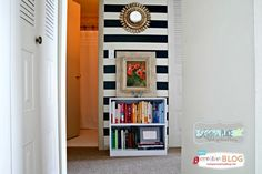 Small Apartment Decorating Ideas | Decorating wtih Duck Tape | TodaysCreativeBlog.net