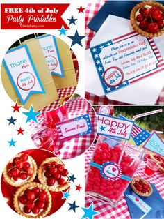 FREE 4th of July Printable Party Kit!! by Bird's Party