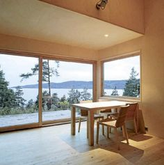 ventanas correderas elevadoras en madera