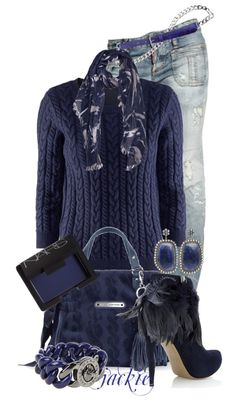 """""""The Blues"""" by jackie22 ❤ liked on Polyvore"""