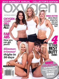 Oxygen Magazine...Favorite Fitness Magazine