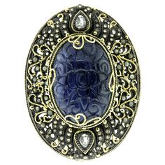 """""""You may give me a brooch. A sapphire one.""""  """"Ah, but will you take care of it?"""""""