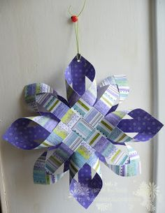 The Crafty Cuttings of Wiccababe: Finnish Star - Tutorial