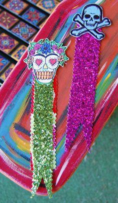 Skull bookmarks