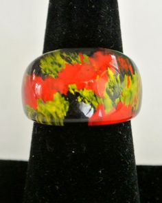Vintage Murano Glass Ring Gift  $39.00