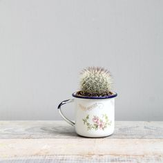 Antique Enamelware Baby Cup