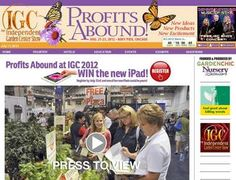 Igcshow.com - Independent Garden Center Show 2012 < way cool mention! #IGC12